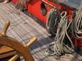 """Deck, russische Fregatte """"Shtandart"""""""